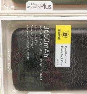 аккумулятор-зарядное устройство на айфон 6 плюс