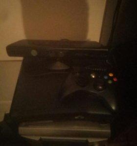 Xbox 360+Kinect+24 игры