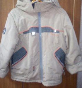 Детская куртка для мальчикапост 110