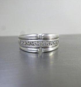 Серебряное кольцо 17р