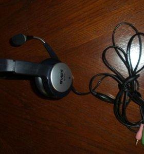 Sven наушники с микрофоном