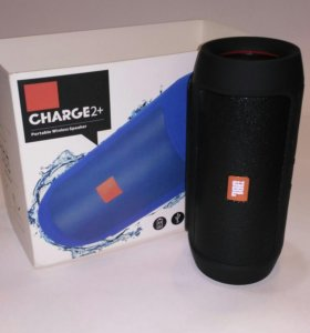 Портативная колонка JBL Charge 2+ черного цвета
