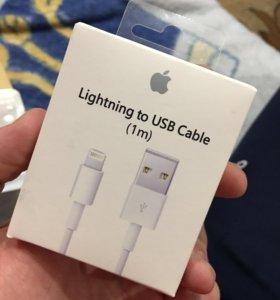 Новый оригинальный шнур на iPhone