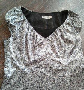 Платье атласное, 48-50