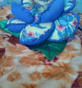 цветы-подушки