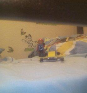 Лего анквалангист спадводной лодкой