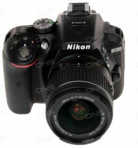 Зеркальная камера Nikon D5300 Kit 18-55mm AF-P II