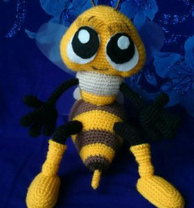 Вязаные игрушки (пчелка )