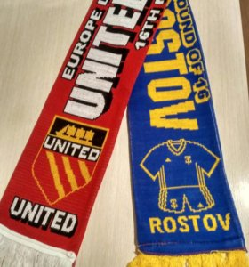 Игровой шарф Манчестер Юнайтед - Ростов