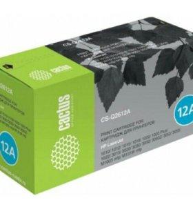 Картридж Cactus CS-Q2612A для HP LJ1010/1012/1015/