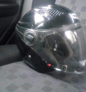 Шлем probiker demi-JET flush (бу 1сезон) размер Xl