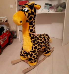 Качалка детская жираф