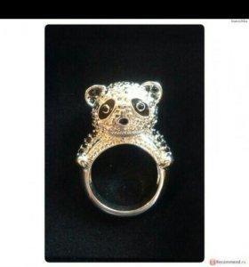 Новое посеребреное кольцо