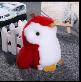 Пингвин брелок
