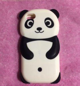 Чехол панда на айфон 5/5s