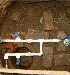 Установка водомеров (счетчиков) в частный дом