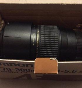 Объектив Tamron AF70-300mm F/4-5.6 Di LD Macro 1:2