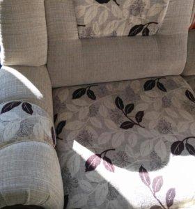 Продается угловой диван в отличном состоянии