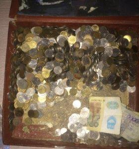 Монеты России для вашей коллекции 5 и 10 копеек