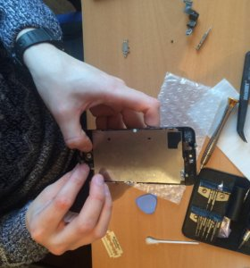 Замена дисплея батарея iPhone