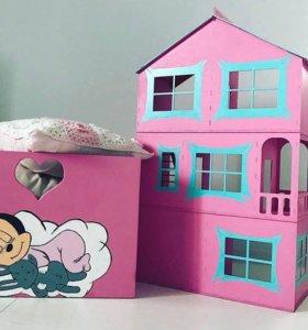 Кукольный домик, экологически чистый материал