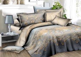 Комплекты постельного белья из полисатина (новые)