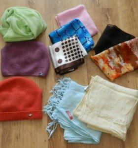 Платки,шапки и шарфы