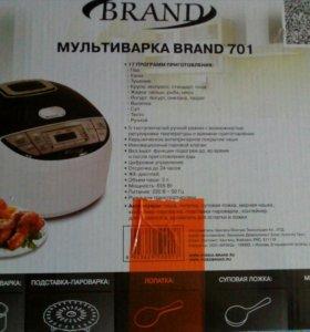 Новая Мультиварка BRAND 701
