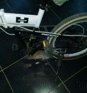 Велосипед скоростной , складной.