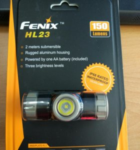 Налобный фонарь. Fenix HL50. 150 lumens.