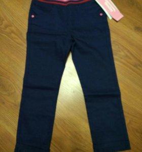 Твиловые брюки 3-4 года