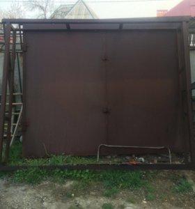 Капитальные ворота для гаража