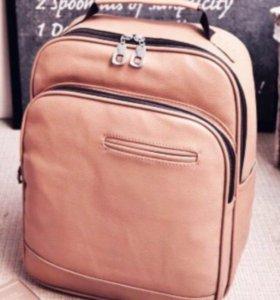 Рюкзак стиль коричневый