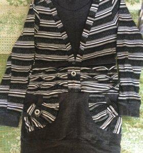 Блузки, тёплая туника