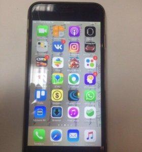 iPhone 6,64gb (space gray), ИТС.