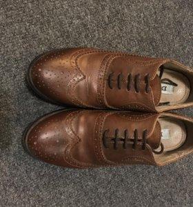 Кожаные туфли Dune