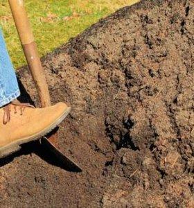 Услуги землекопов. земляные работы