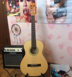Гитара Fender ESC80 CLASSICAL 3/4