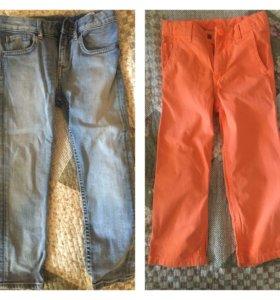 Джинсы hm, брюки gap