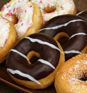 Очень вкусные пончики