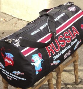Спорная сумка Тайский бокс Россия чемпионат мира