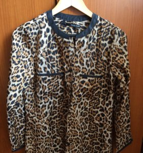 Женская блузка/рубашка цвет леопард