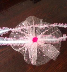 Аксессуар для волос с цветочком