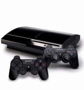 Playstation 3 + 2дж.