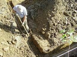 Земельные работы , фундамент