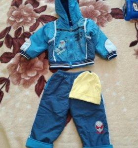 Куртка и штаны (костюм демисезонный)