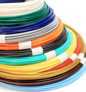 PLA-пластик для 3D-ручки -12 цветов по 10 м