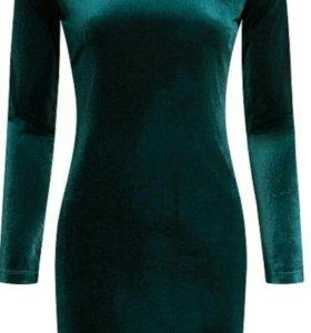 Платье новое, бархатное