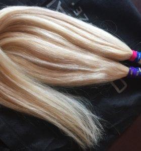 Волосы новые 80 см,срез
