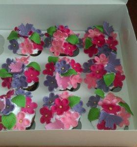 Вкуснейшие торты и кап-кейки на заказ